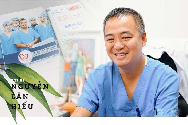 Phó Giáo sư, Tiến sĩ Nguyễn Lân Hiếu - Giám đốc bệnh viện