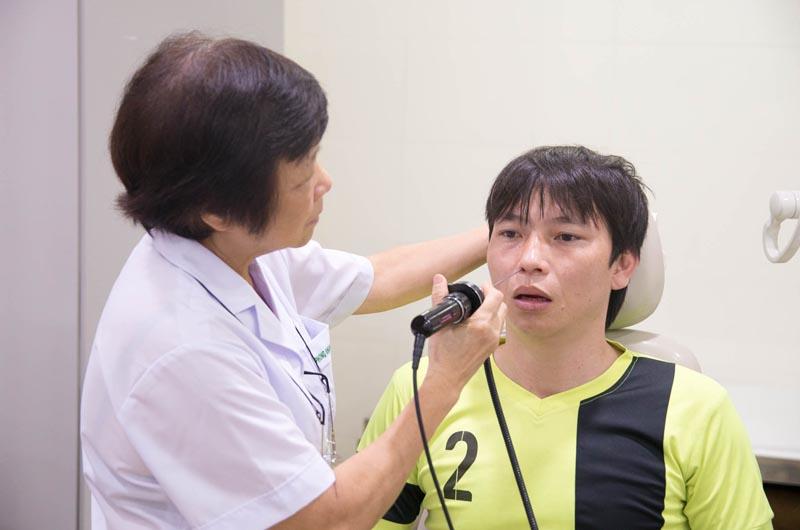 Tai mũi họng là khoa thế mạnh của bệnh viện