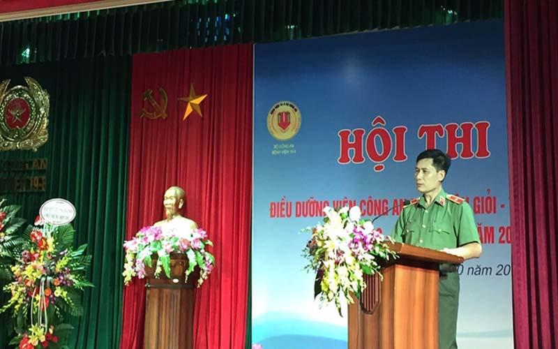 Thiếu tướng, Phó Giáo sư, Tiến sĩ Trần Văn Sáu - Giám đốc bệnh viện