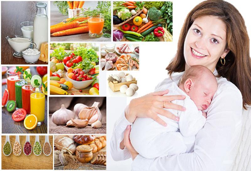 Thực đơn giảm cân sau sinh mổ vẫn cần đảm bảo đủ dinh dưỡng