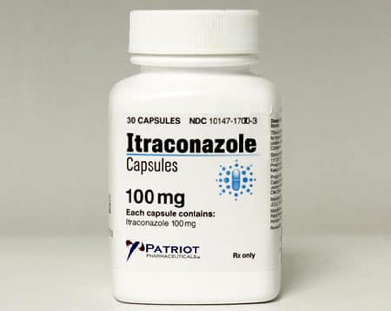 Thuốc Itraconazole giúp điều trị các bệnh nhiễm trùng do nấm