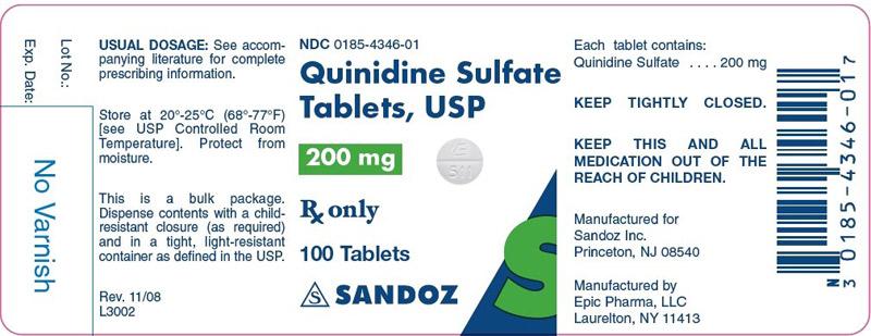 Thuốc Quinidine điều trị rối loạn nhịp tim