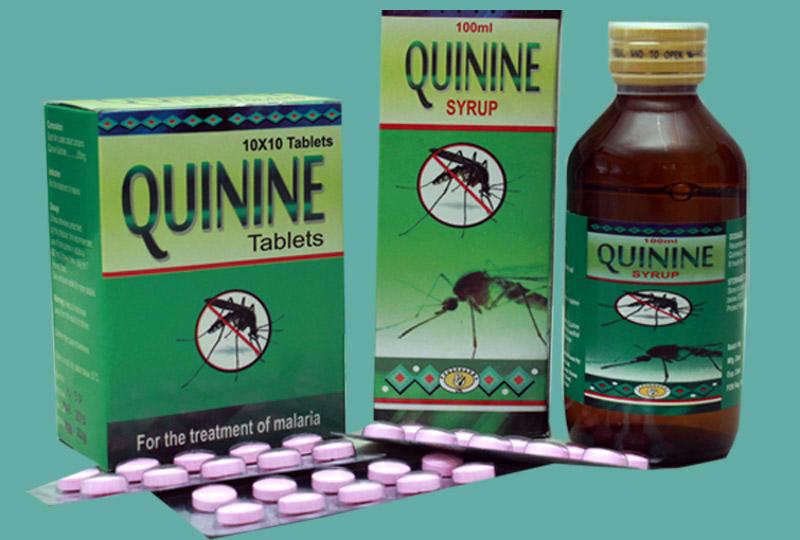 Thuốc Quinine điều trị bệnh sốt rét