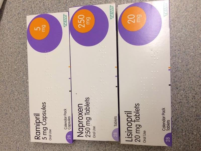 Thuốc Ramipril sử dụng cho các bệnh nhân bị cao huyết áp