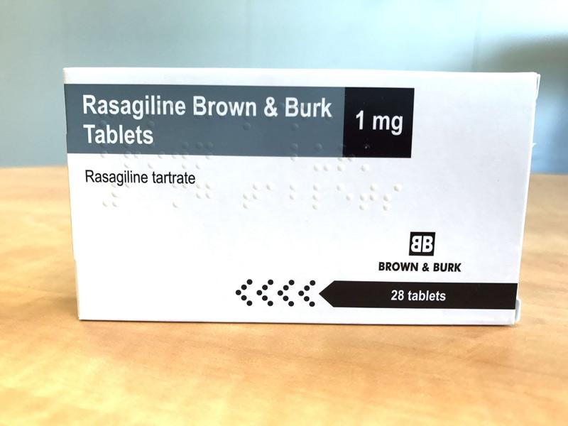 Thuốc Rasagiline được dùng để điều trị bệnh Parkinson