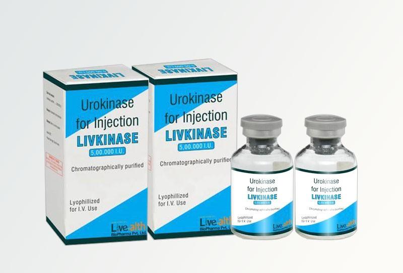 Thuốc Urokinase giúp hòa tan các cục máu đông