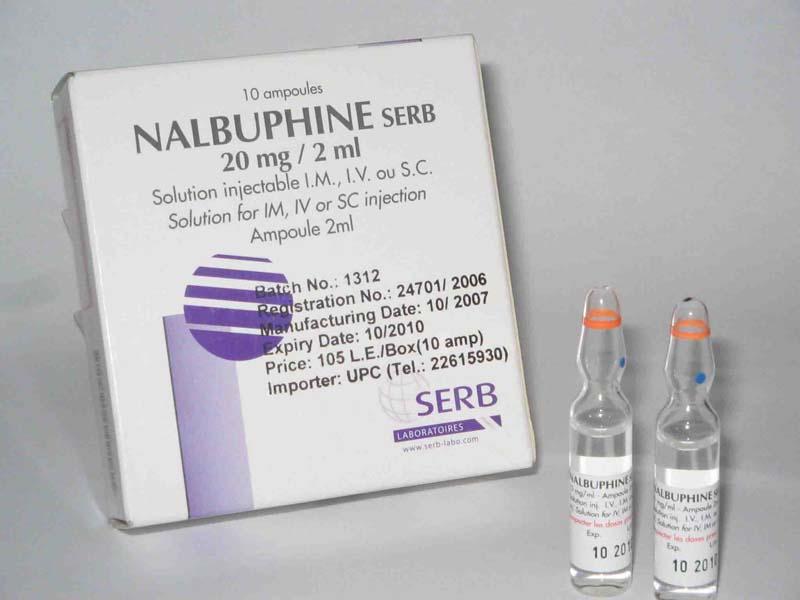 Thuốc giảm đau Nalbuphine