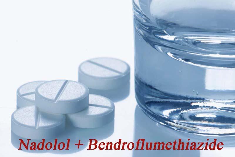 Thuốc Nadolol + Bendroflumethiazide có công dụng gì?