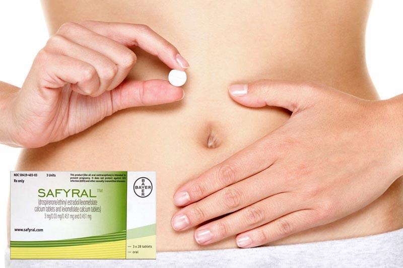 Thuốc tránh thai nội tiết tố Safyral