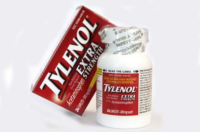 Thuốc trị gai cột sống lưng Tylenol