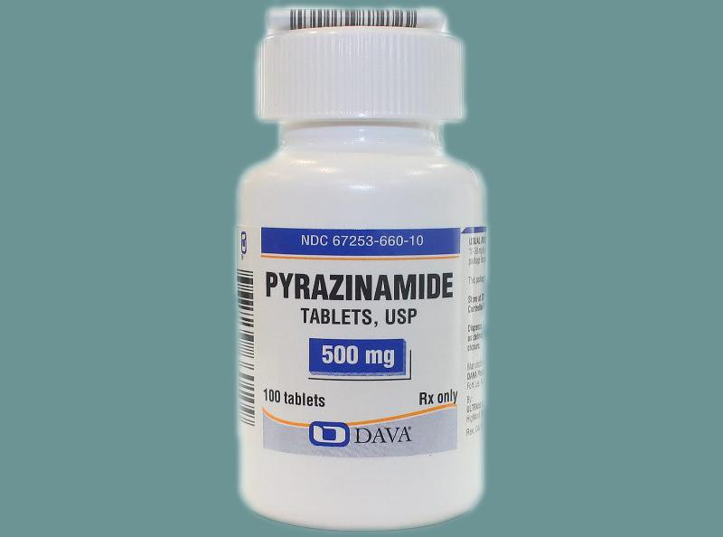 Pyrazinamide có tương tác với một số thuốc như Ethionamide, Rifampin, Zidovudine