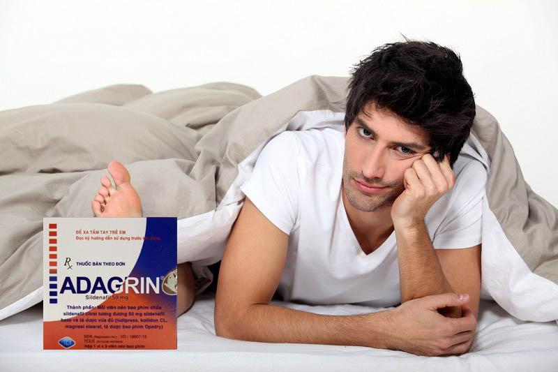 Thuốc Adagrin có hại không là thắc mắc của nhiều nam giới