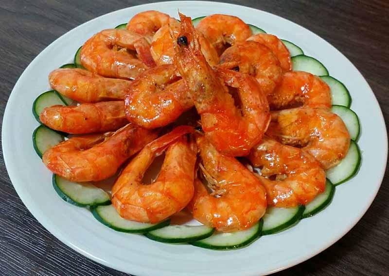 Các món ăn từ tôm rất có lợi cho chức năng sinh lý nam