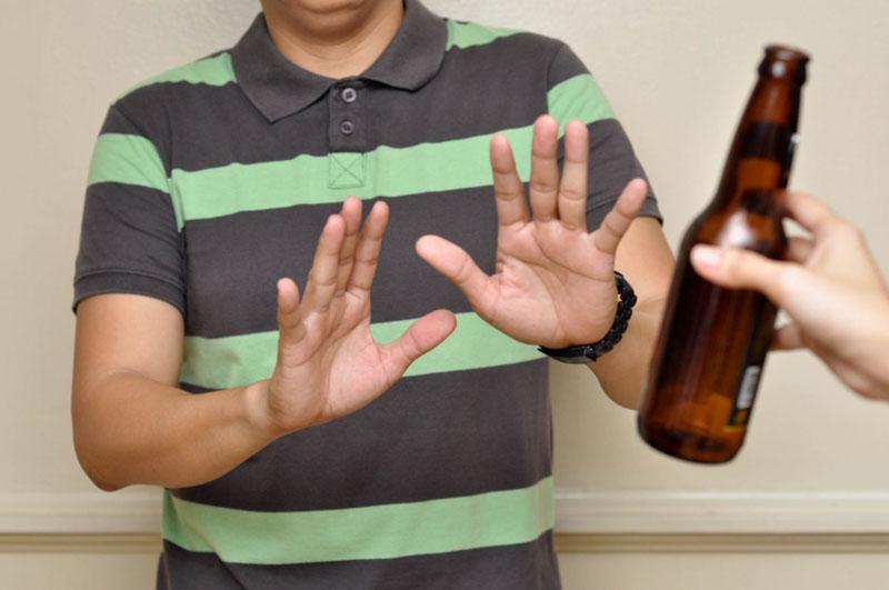 Nói không với rượu, bia và các sản phẩm có hại cho chức năng sinh lý