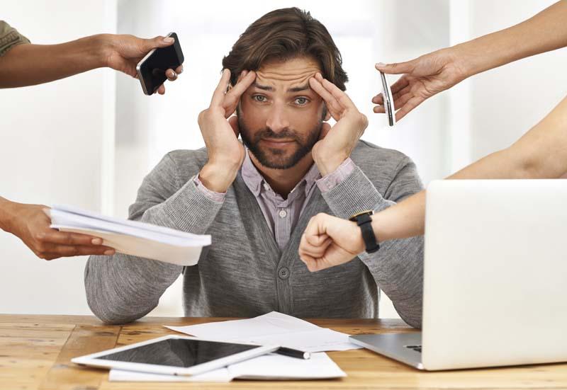 Tâm lý căng thẳng, mệt mỏi cũng là một nguyên nhân gây liệt dương ở các quý ông