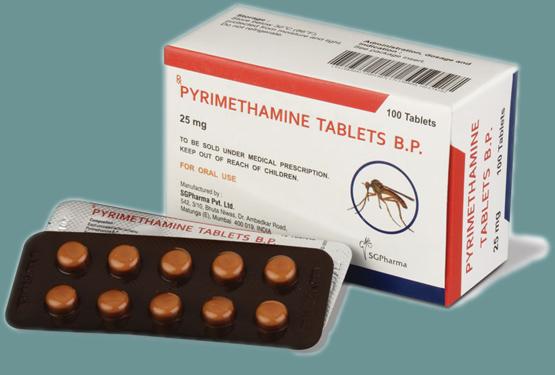 Thuốc Pyrimethamine