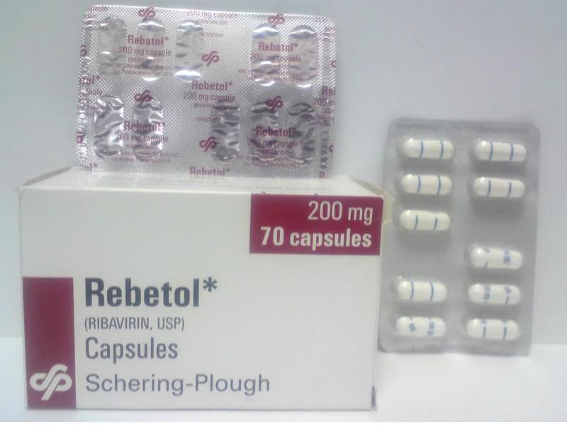 Thuốc Ribavirin dùng điều trị bệnh viêm gan C