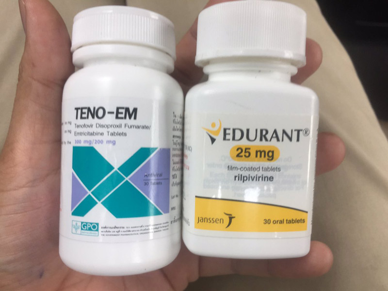 Thuốc Rilpivirine (Edurant) dùng cho các bệnh nhân bị HIV