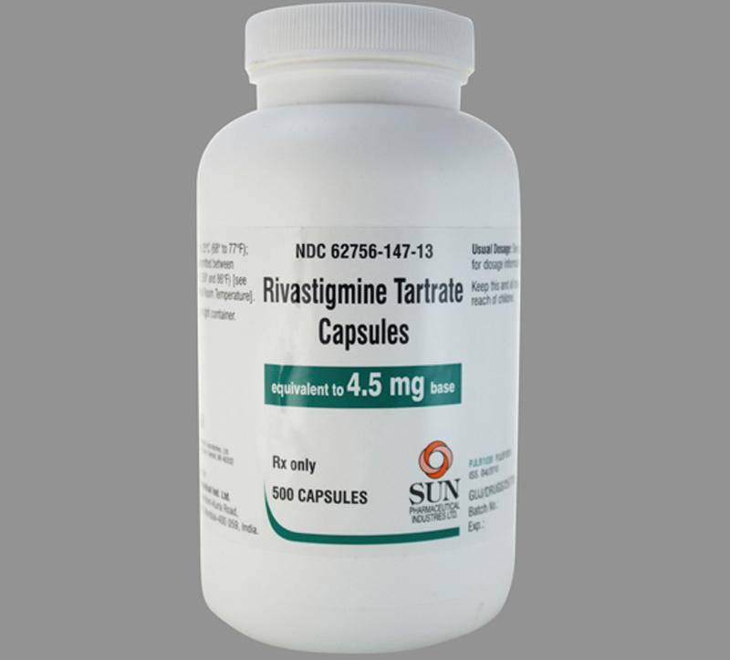 Thuốc Rivastigmine dùng cho bệnh nhân bị Alzheimer hoặc Parkinson