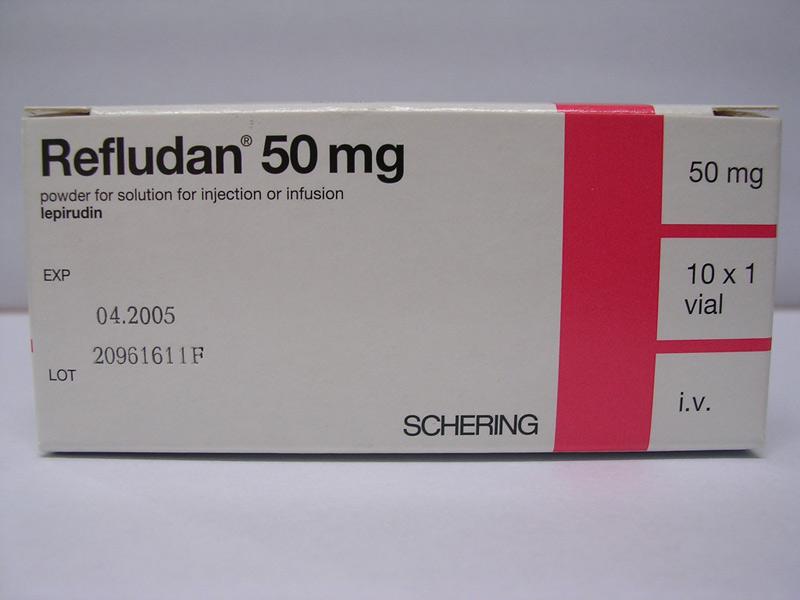 Thuốc chống đông máu Lepirudin vô cùng hiệu quả