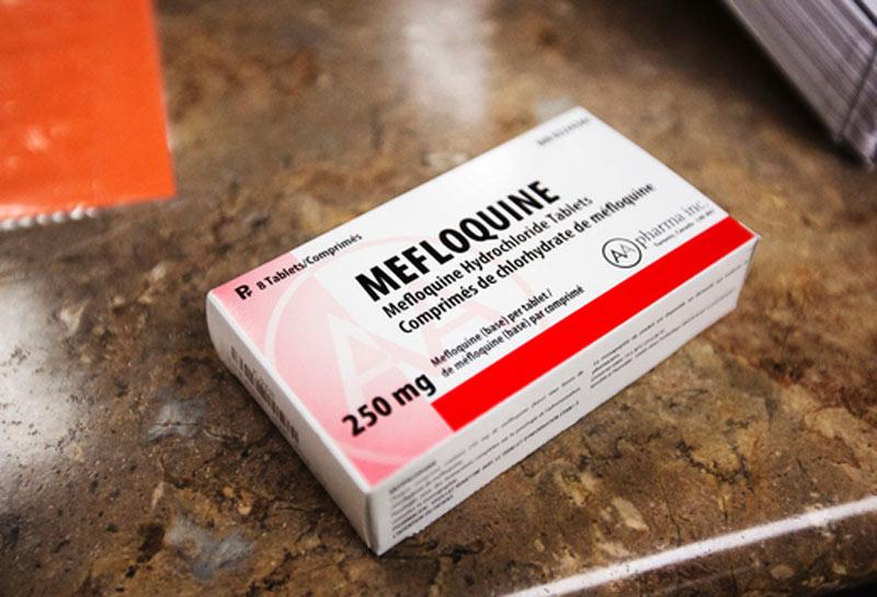 Paraldehyde có tương tác với thuốc Mefloquine