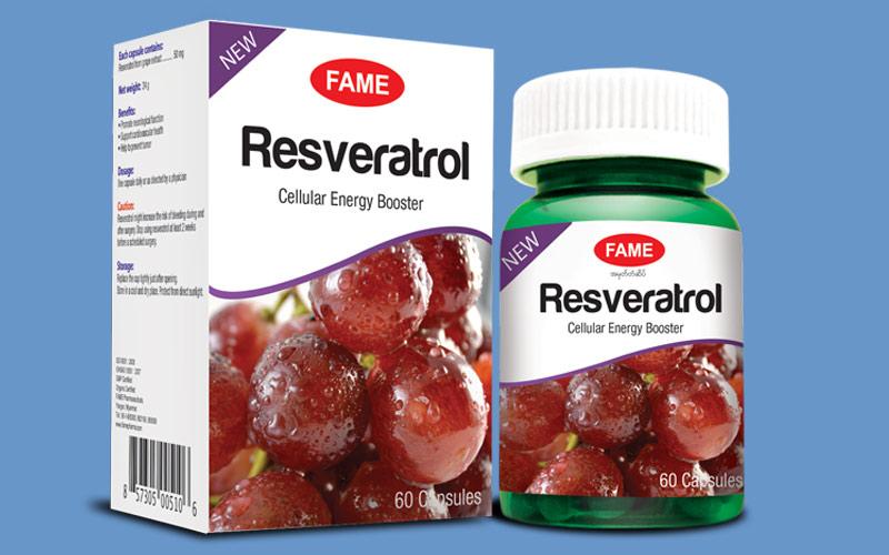 Resveratrol dùng cho bệnh nhân bị xơ vữa động mạch