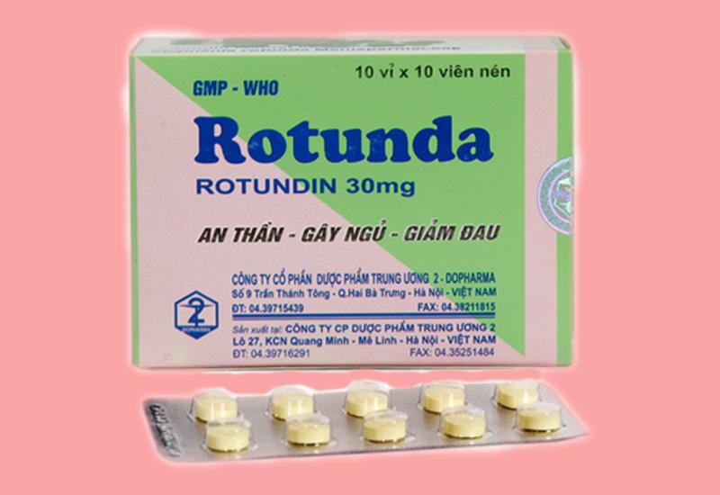 Rotunda cũng có tương tác với các loại thuốc khác
