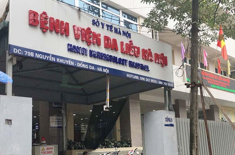 Bệnh viện Da liễu Hà Nội là địa chỉ khám chữa bệnh mề đay khá uy tín
