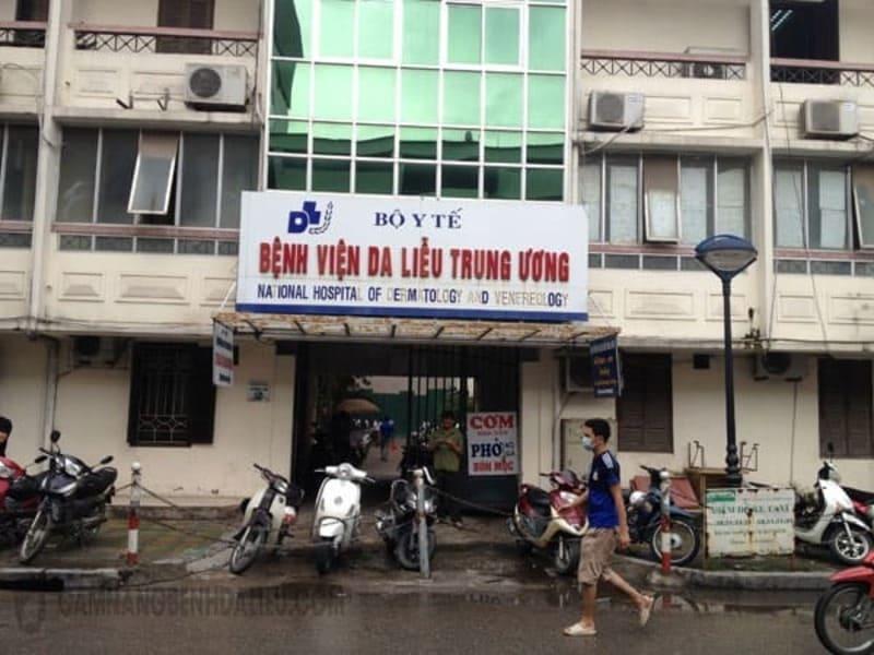 Bệnh viện Da liễu Trung ương là địa chỉ chữa viêm da uy tín