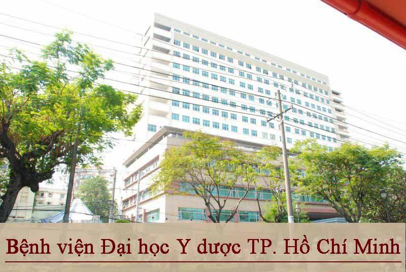 Bệnh viện Đại học Y dược TP. Hồ Chí Minh chữa viêm da