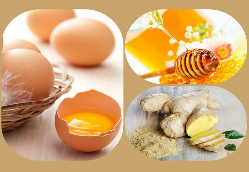 Chữa yếu sinh lý bằng trứng gà kết hợp với nghệ và mật ong