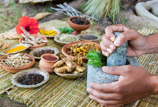 Có thể dùng các vị thuốc bắc nấu món ăn hoặc sắc nước uốCó thể dùng các vị thuốc bắc nấu món ăn hoặc sắc nước uốngng