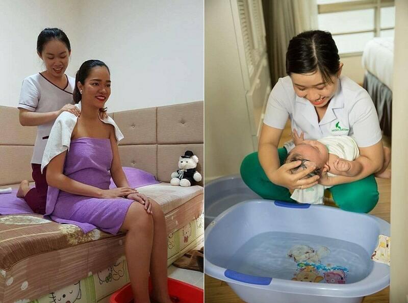 Dịch vụ chăm sóc mẹ và bé sau sinh