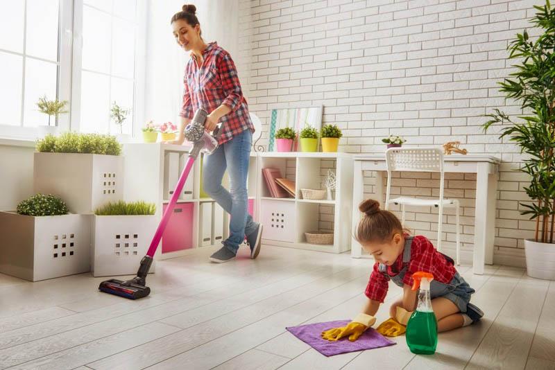 Giữ gìn môi trường sống sạch sẽ, thoáng mát để tránh bệnh tật