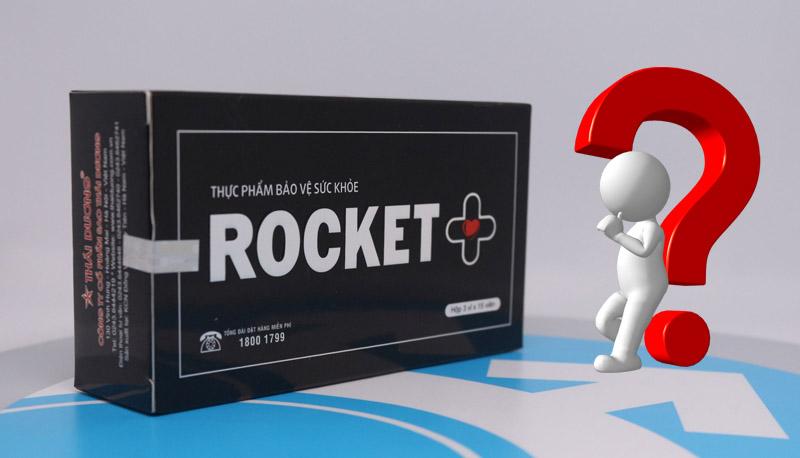 Nam giới cần lưu ý gì khi dùng thuốc Rocket 1 giờ?