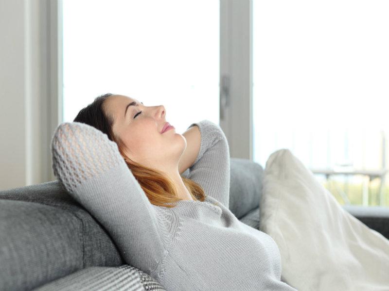 Nghỉ ngơi thư giãn giúp phòng chống bệnh
