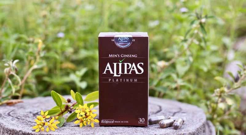 Sâm Alipas giúp cải thiện các vấn đề sinh lý nam hiệu quả