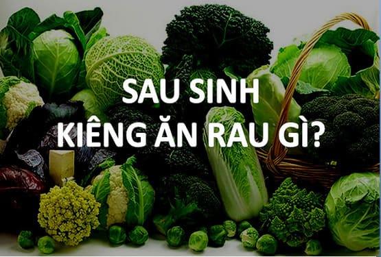 Sau sinh nên ăn rau mồng tơi