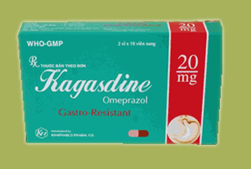 Thuốc Kagasdine dùng cho một số bệnh lý về dạ dày