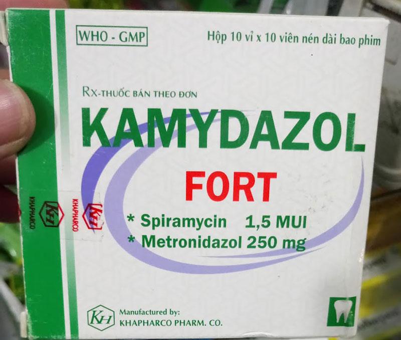 Thuốc Kamydazol dùng cho bệnh nhân bị viêm xoang, viêm phế quản cấp