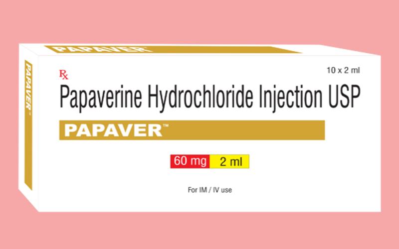 Thuốc Papaverine điều trị bệnh rối loạn cương dương