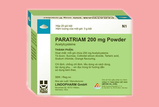 Thuốc Paratriam