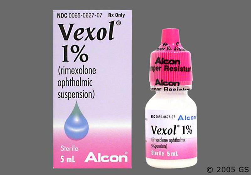 Thuốc Rimexolone dùng cho các bệnh nhân bị tổn thương mắt