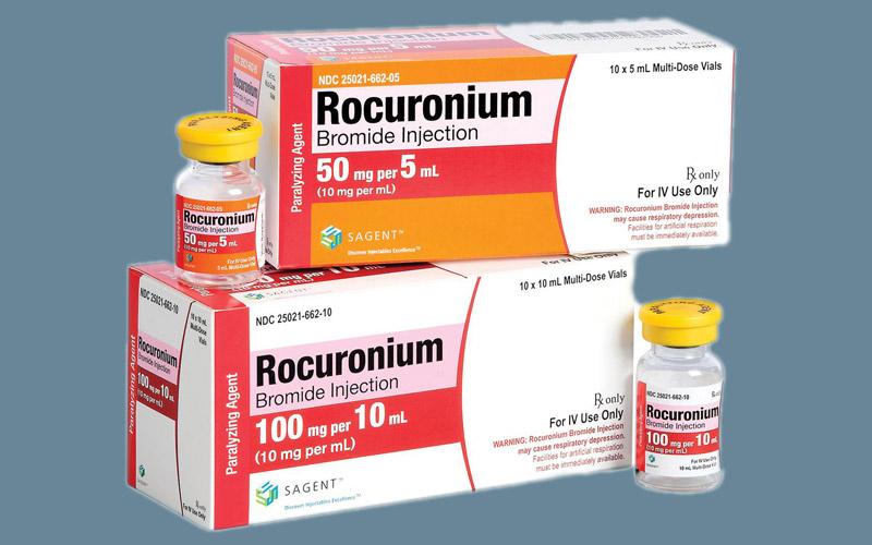 Thuốc Rocuronium có tác dụng giãn các cơ bắp