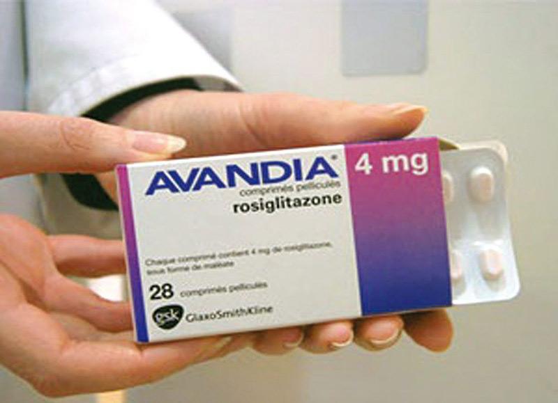 Thuốc Rosiglitazonedành cho bệnh nhân bị tiểu đường loại 2