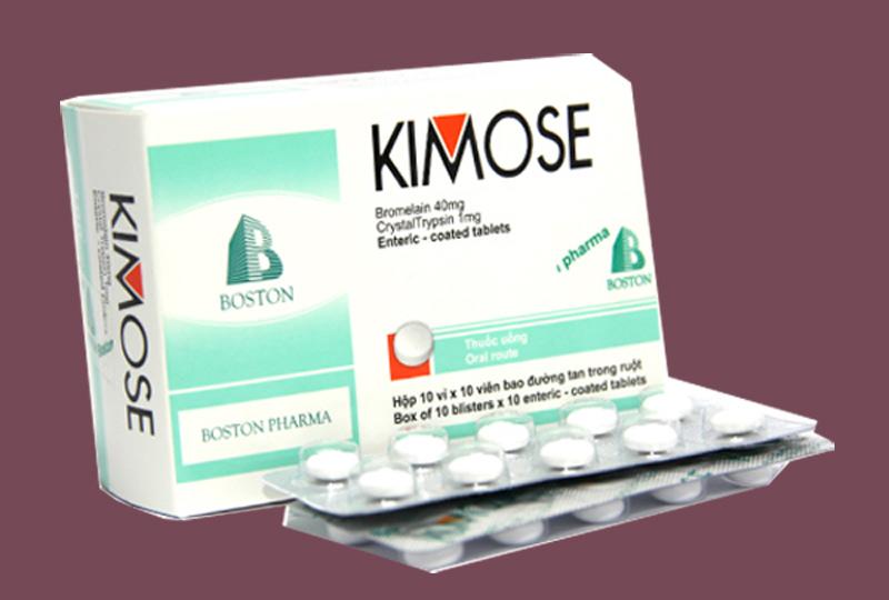 Thuốc Kimose dùng cho người bị gãy xương, bong gân
