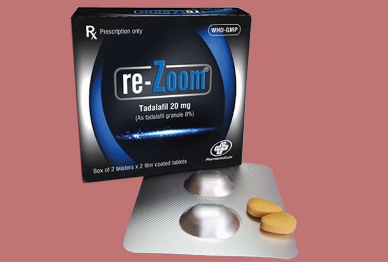 Thuốc Re-Zoom dùng cho bệnh nhân bị rối loạn cương dương