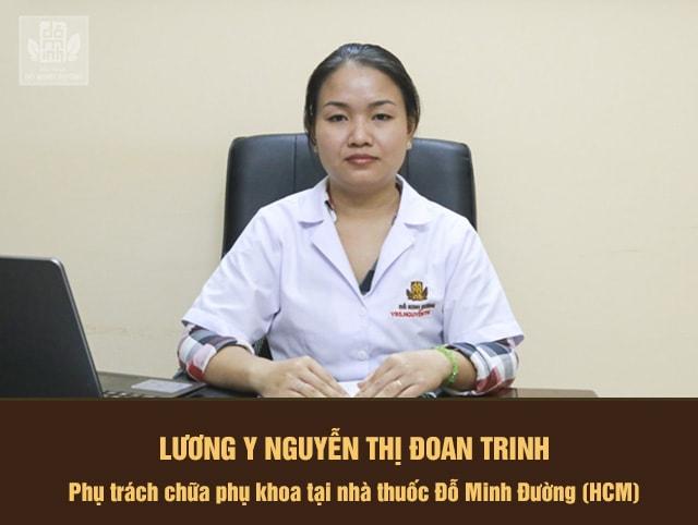 Lương y Nguyễn Thị Đoan Trinh tư vấn