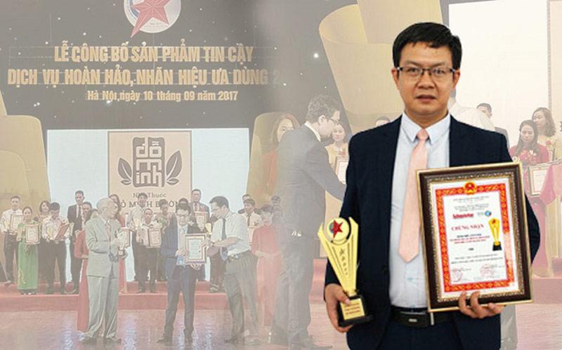 Nhà thuốc vinh dự nhận giải thưởng do Tạp chí Sở hữu trí tuệ và sáng tạo trao tặng