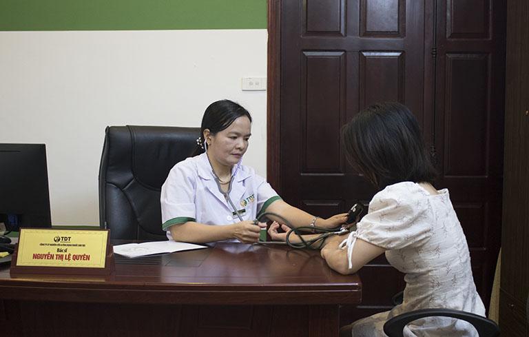 Bệnh mề đay chỉ có thể được chữa khỏi khi tìm đến bác sĩ Lệ Quyên